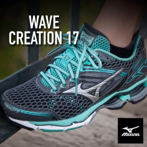 tenis para caminhada mizuno wave creation 17